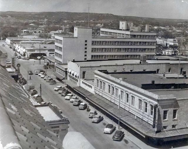 Kerrville 1950s Water Street