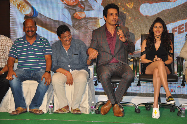 kung fu yoga telugu press meet stills