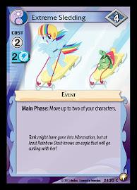 My Little Pony Extreme Sledding Equestrian Odysseys CCG Card