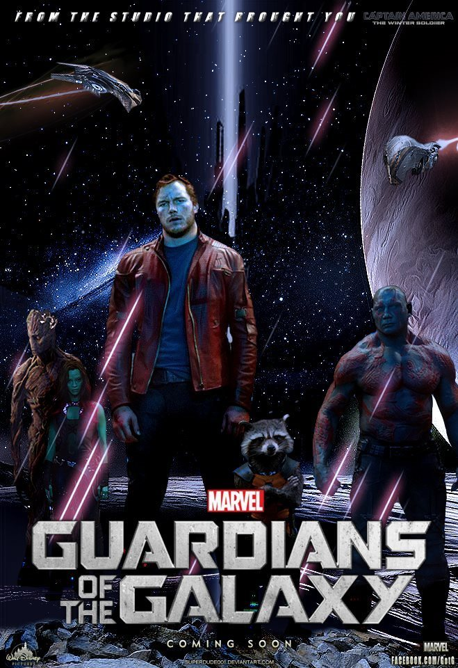 Poster 4: Guardians of the Galaxy