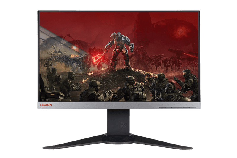 The Lenovo Legion Y25f Gaming Monitor with 144 Hz refresh rate