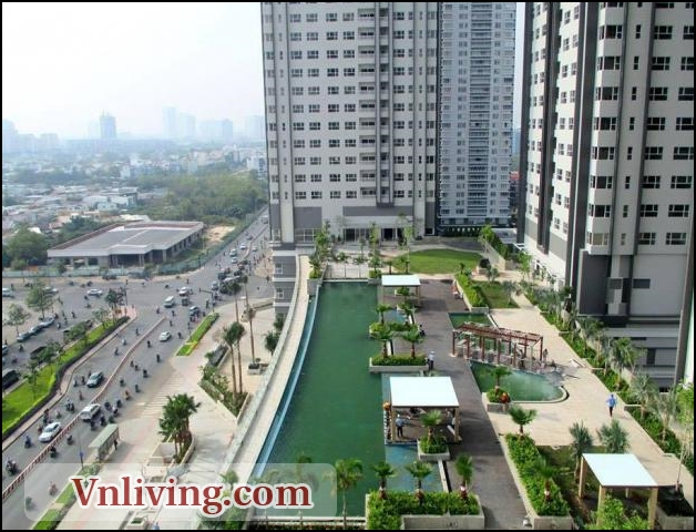 Lexington Residence apartment for rent 2 bedrooms block D fully furniture
