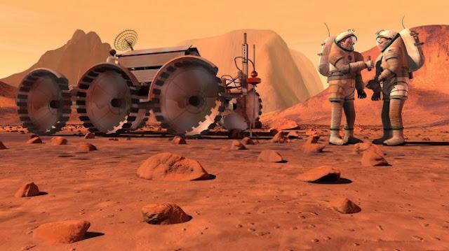 أوباما سوف أرسل الناس إلى المريخ في 2030