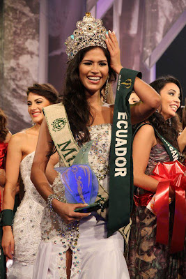 Miss Earth 2011 Olga Alava from Ecuador photo