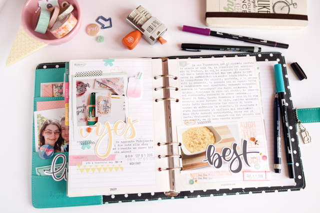 scrappin'planner by kushi settembre ottobre 2016 5| www.kkushi.com