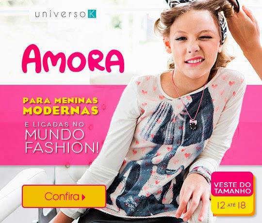 0ed9eaa0ee BRESHOPPING DA DANY  Amora  Marca de Moda Feminina Infantil chega a ...