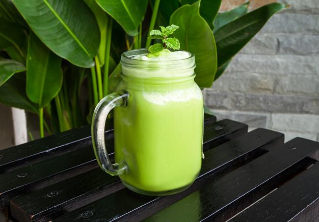 batidos verdes para adelgazar abdomen
