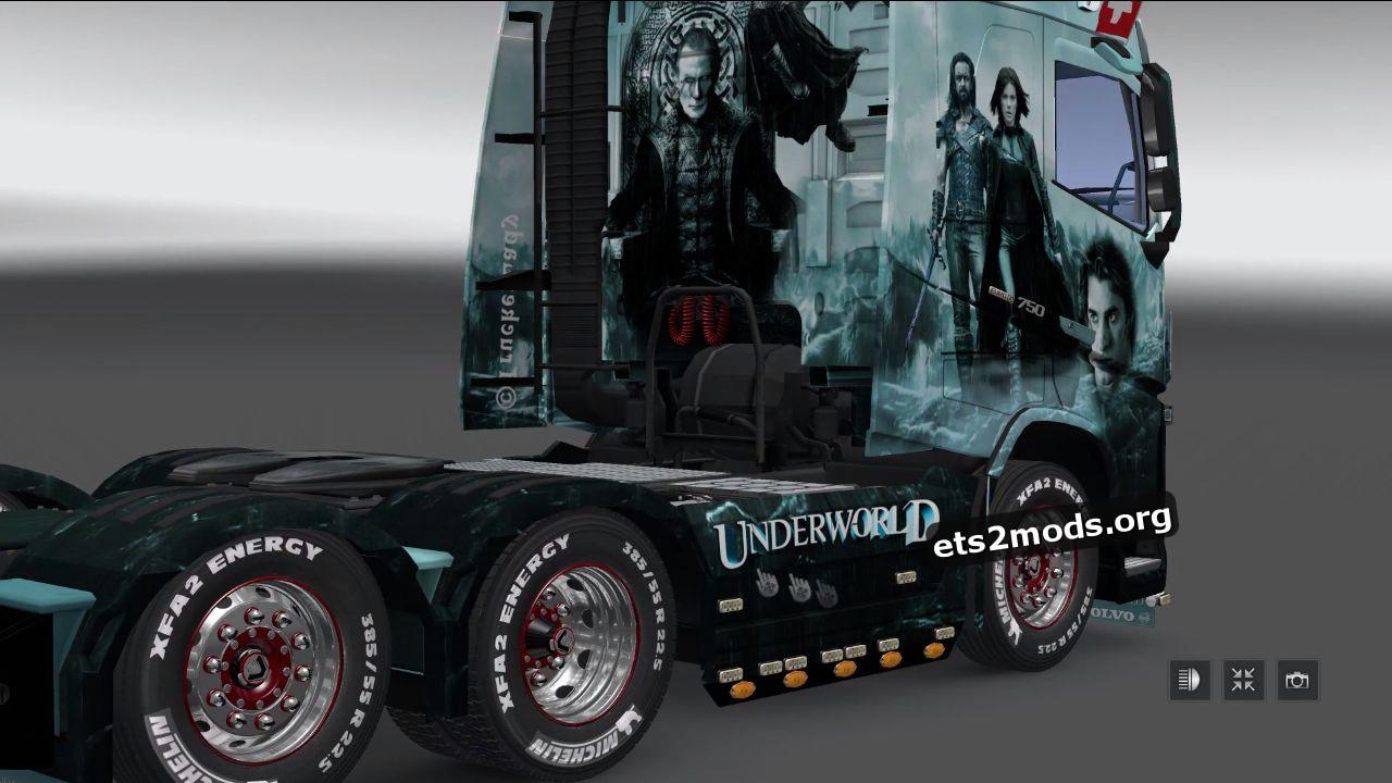 Underworld Skin for Volvo 2013