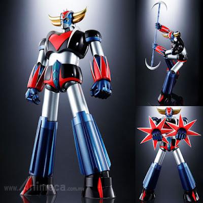 Figura Grendizer D.C. Soul of Chogokin GX-76 UFO Robot Grendizer