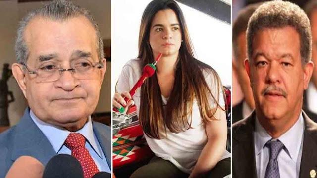 Franklin Almeyda arremete contra aquellos que critican la lujosa vida de la hija de Leonel Fernández