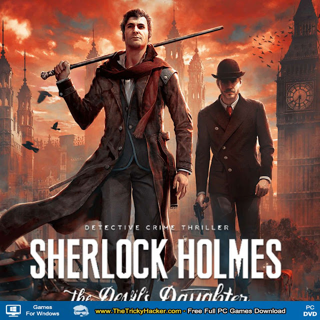 Sherlock Holmes The Devils Daughter Game