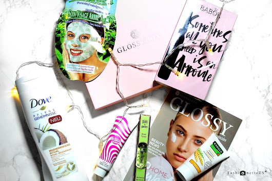 FashionetteTS by Tatjana Svenja: BEAUTY │ GLOSSYBOX OKTOBER // HOME SWEET HOME