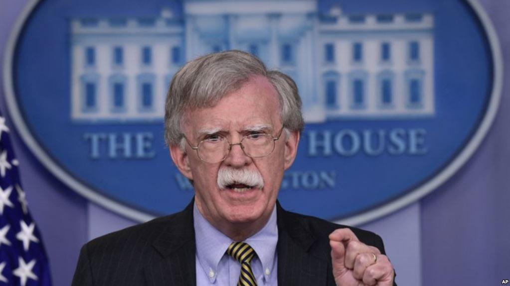 Asesor de Seguridad Nacional de la Casa Blanca, John Bolton / AP
