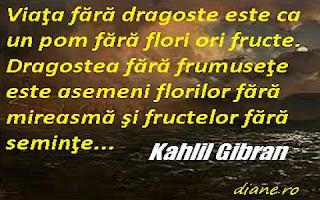 Dragostea - Khalil Gibran
