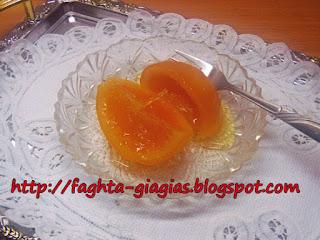 Πορτοκάλι γλυκό του κουταλιού - από «Τα φαγητά της γιαγιάς»