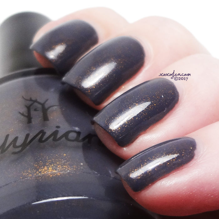 xoxoJen's swatch of Illyrian: Gold Lion