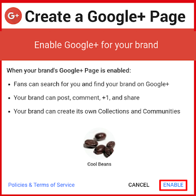 Create a Google+ Page for your Brand, YouTube channel, Business or Organization