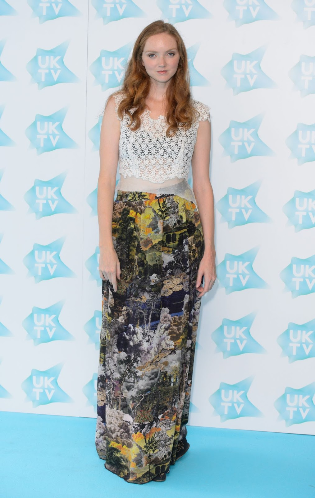 HQ Photos of Lily Cole At UKTV Live New Season Launch In London