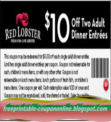View the legal terms and conditions for Red Lobster.