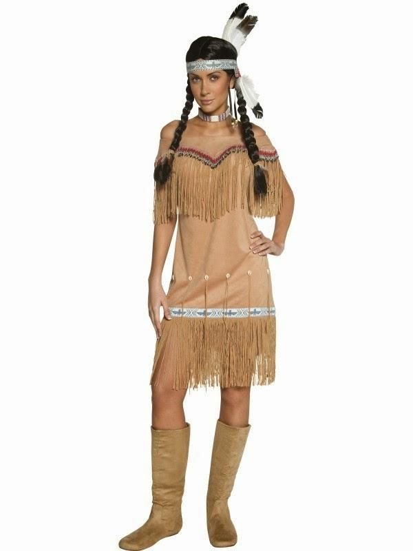 indianer udklædning kreativ
