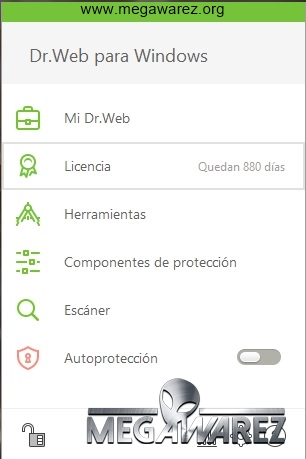Dr.Web Anti-virus 11 imagenes