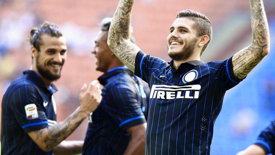 Hasil Inter Milan vs Sassuolo Skor 7-0: Mauro Icardi Hattrick