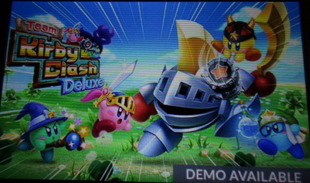 Team Kirby Clash Deluxe DEMO AVAILABLE Nintendo 3DS push notification SpotPass
