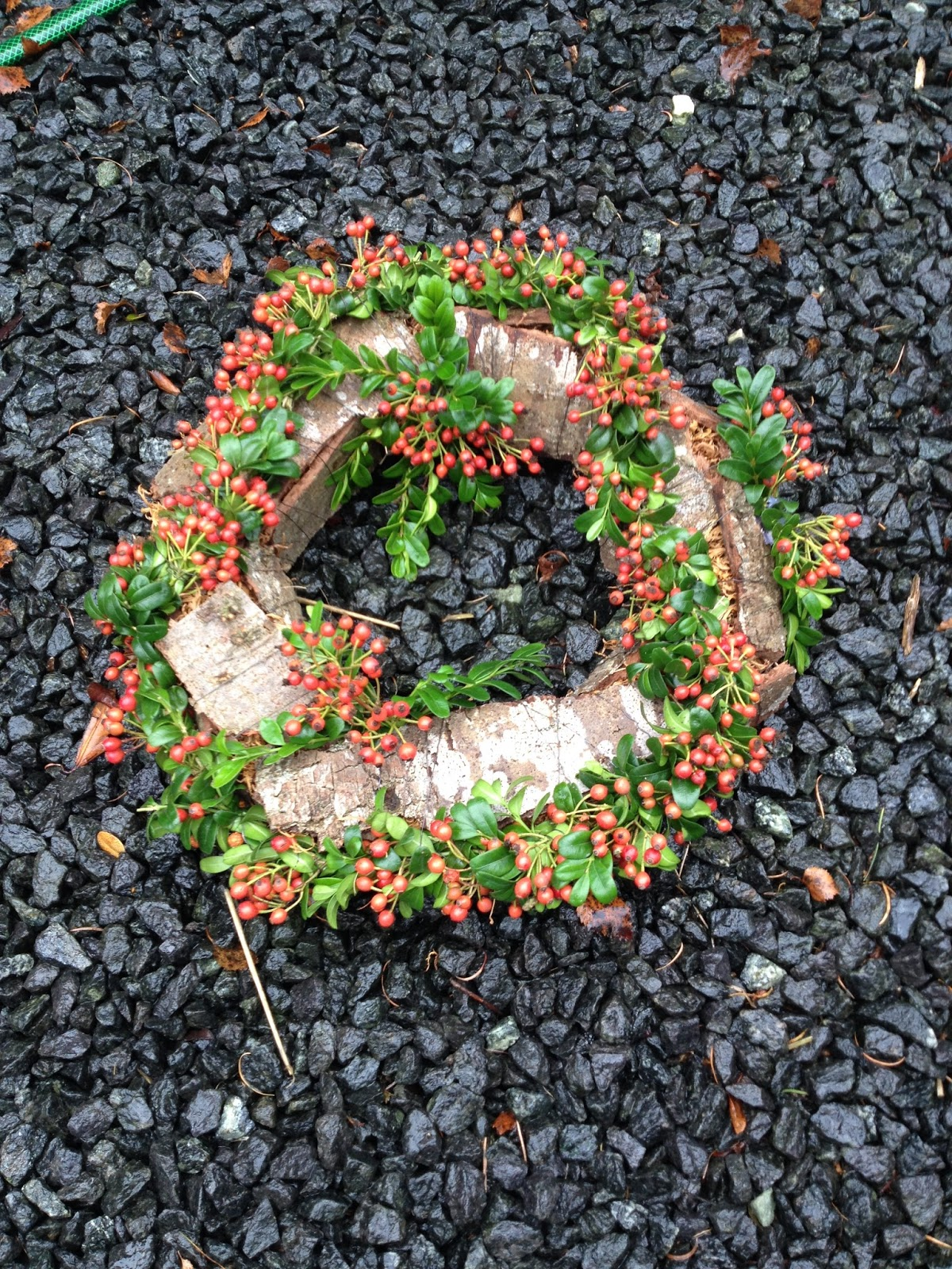 Blomstertøsens have: en anderledes krans