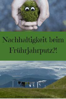 Nachhaltigkeit beim Frühjahrsputz?! – meine #5vor12 im April
