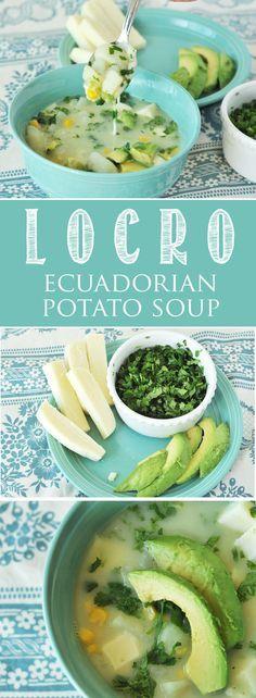 Locro {Ecuadorian Potato Soup}