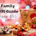 Family Gift Guide [Under $35]