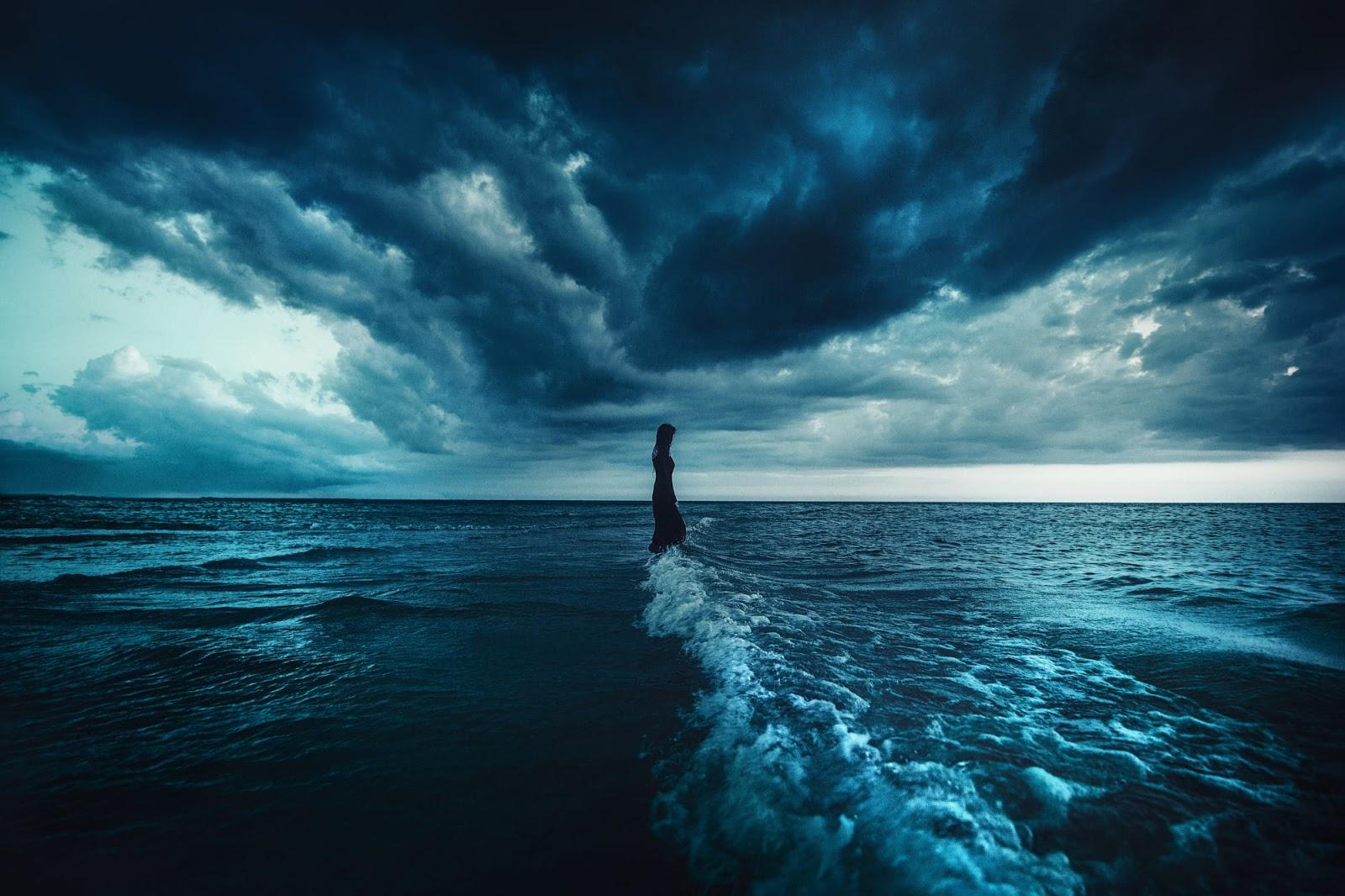 خلفيات على البحر بدقة عالية