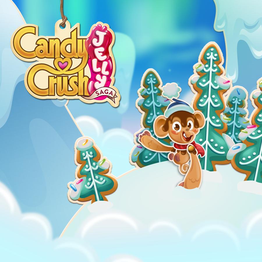 Candy Crush Jelly Saga level 581-600