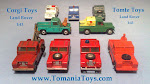 LAND ROVER MODEL CARS
