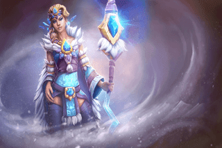 Crystal Maiden - Wraps of The Winterbringer