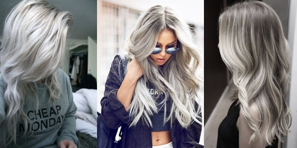 Different Hair Colors And Styles: Awesome Silver Hairstyles!