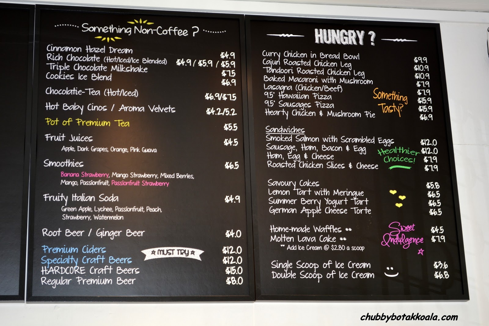 Chubby Botak Koala - Singapore Food Blog, Travel and ...