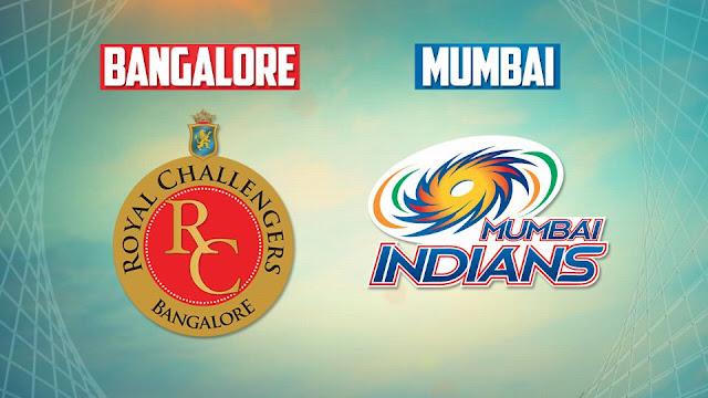Royal Challengers Bangalore vs Mumbai Indians