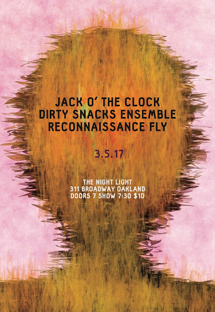Next Reconnaissance Fly gig: March 5th in Oakland