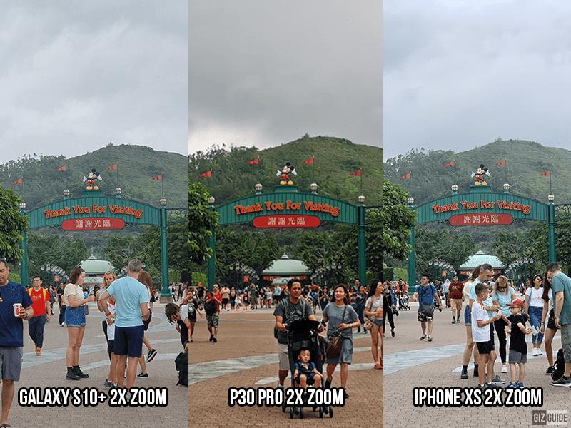 2x zoom comparison