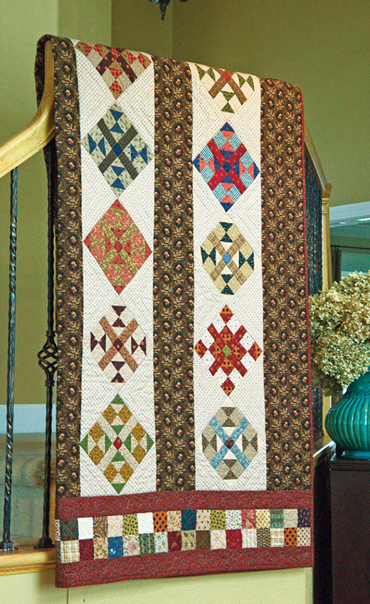 Dream Catcher Quilt Free Pattern