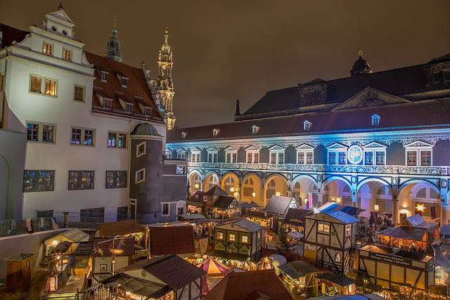 Dresden Germany oldest Christmas markets medieval
