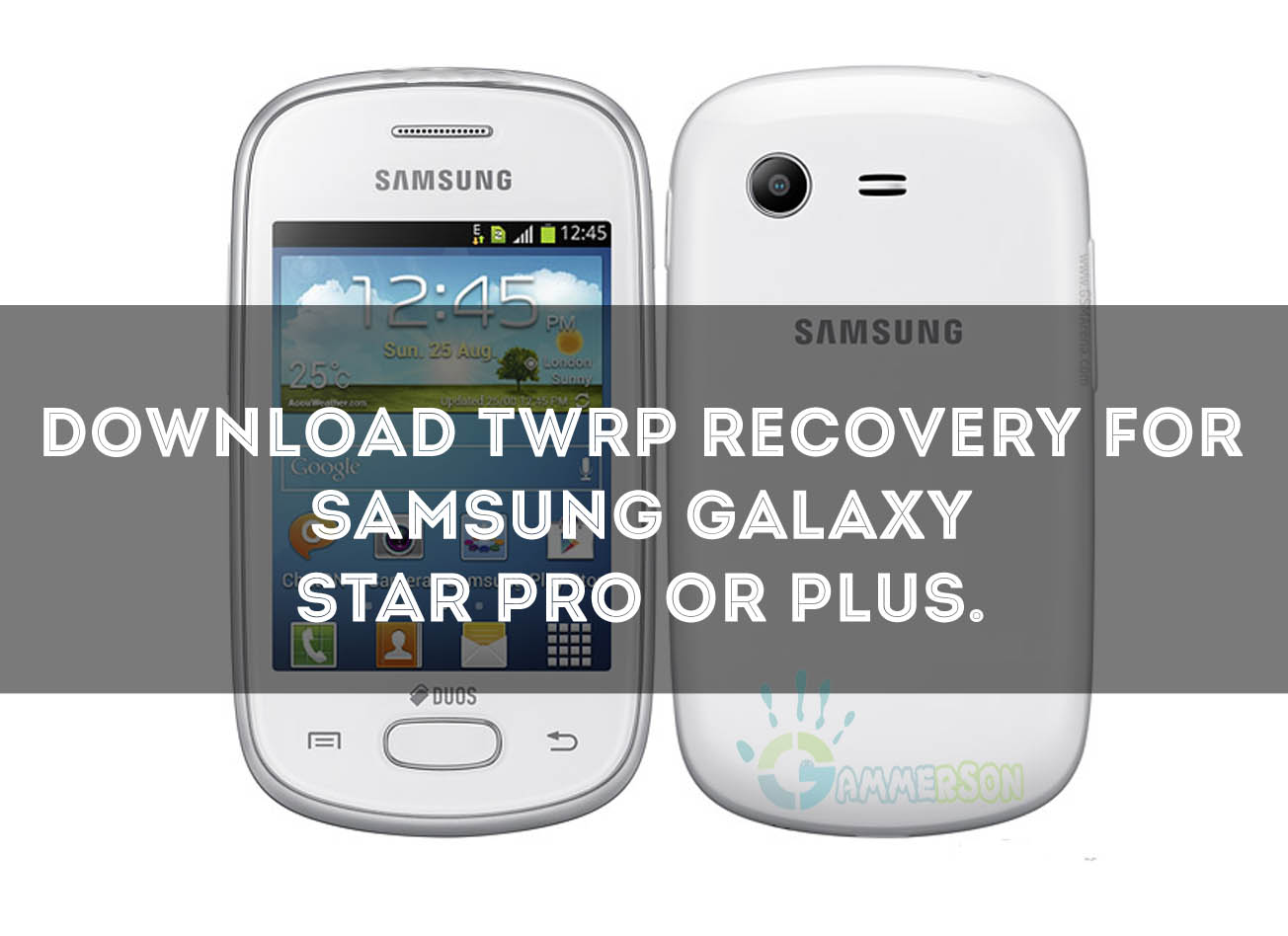 Steps How To Install Twrp Recovery In Galaxy Star Pro Or Plus Samsung