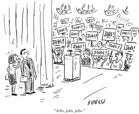 Dan's Literacy Blog: The New Yorker Political Cartoon