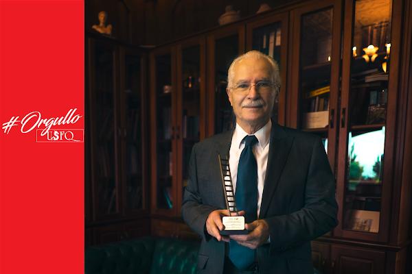 USFQ, el aliado académico más activo del año en premios 'EI'