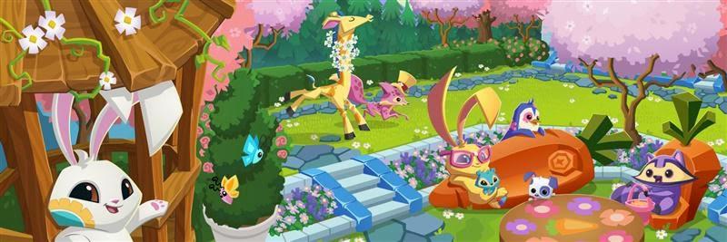 Animal jam spirit blog safari boots spring bunny bundle - Animal jam desktop backgrounds ...