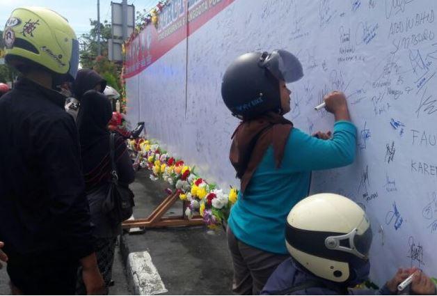 Foto kegiatan Polres Mamuju Deklarasi Melawan Terorisme