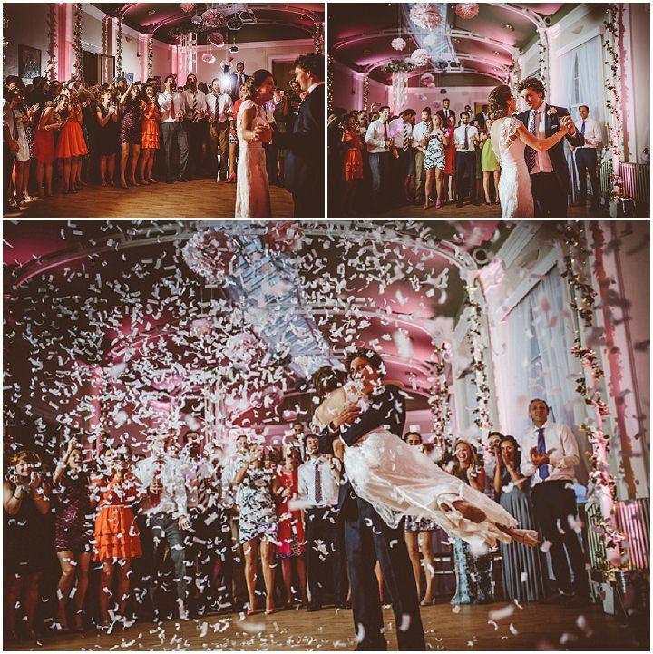 Pierwszy taniec, konfetti, Atrakcje dla gości, wesele z pomysłem