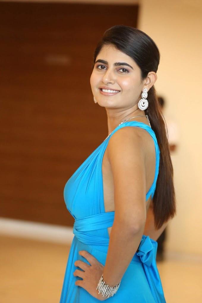 Ashima Narwal Hot Blue Costume Sizzling At Killer Movie Success Party