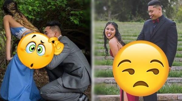 Astaga! Niat Bikin Foto Pre-Wedding Unik, Pasangan Ini Malah Dicaci Karena Pose-posenya yang Kelewatan
